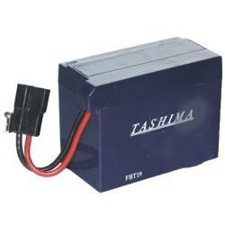Batterie motoculture 12V, 3A. L: 110, L: 55, H:80mm, avec connexion spéciale (livrée sans acide).
