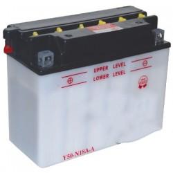 Batterie 12V , 20A. L: 205, L: 90, H:162mm, + à gauche pour autoportée, quads. (livrée sans acide).