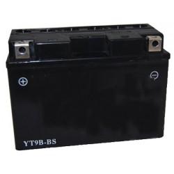 Batterie plomb étanche 12V gel/agm, 8A. L: 150, l: 70, H: 105mm, + à gauche pour scooter, motos.