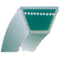 """Courroie lisse trapézoïdale qualité d'origine AYP, pour tondeuse 21"""" transmission arrière (section 3/8"""")."""
