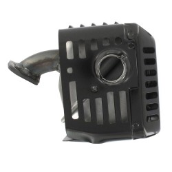 Echappement complet avec protection pour HONDA moteur GX140 et GX160 (5,5 ch.).