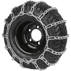 Paire de chaine à neige pour pneumatique - Dimensions: 12x3, 10,50x450-4, 410/350x5.