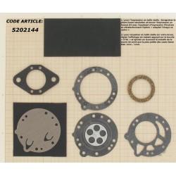 Kit membranes carburateur adaptable pour TILLOTSON