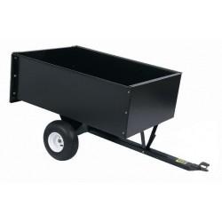 Remorque basculante pour autoportées 122x80x40cms, 550kg.