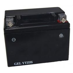 Batterie plomb étanche 12V gel/agm, 3A. L: 113, l: 69, H:85mm, + à droite pour motos.