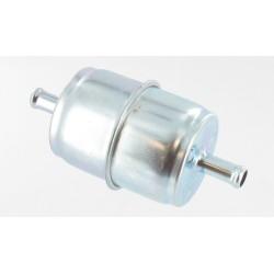 Filtre à essence à tamis (10 microns) avec corps métallique - Ø: d'entrée: 8mm.