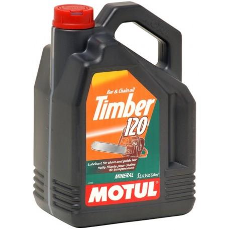 Huile de chaîne  TIMBER 120 5 litres MOTUL