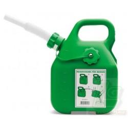 Bidon essence vert