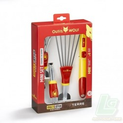 MINI SET DE JARDINAGE MULTI-STAR - BT41 OUTILS WOLF