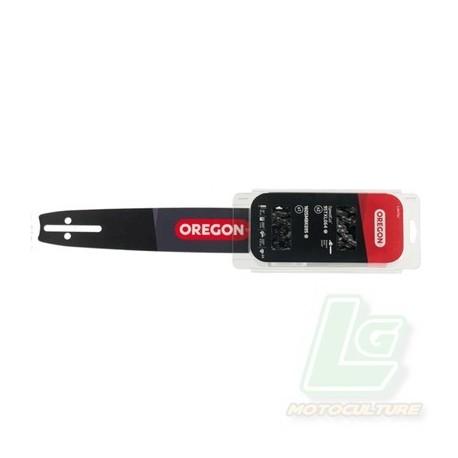 Combo Oregon pack de 1 guide 160SDEA074 + 2 chaines 91P055E