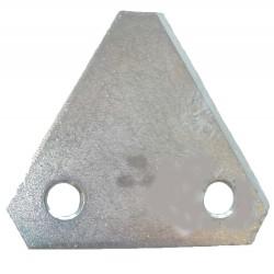 Lame triangulaire pour tondeuse BRILL.